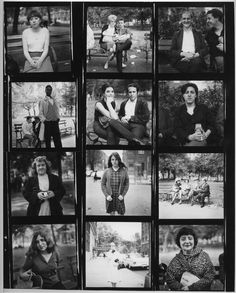 "slcvisualresources: ""Diane Arbus, contact sheet (ca. 1960s) """