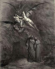 Gustave Doré's Divine Comedy, Inferno, Canto IX