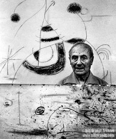 Joan Miro by Bill Brandt