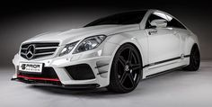 Mercedes E-Class Coupe Black Edition Widebody by Prior-Design