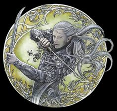 Forest Warrior by Jankolas One of my favourite depictions of Legolas :) Hobbit Art, O Hobbit, Fellowship Of The Ring, Lord Of The Rings, Lotr, Silvan Elves, Elven City, Legolas And Thranduil, Elf Art