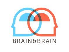 brain and brain logo
