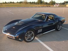 Black 1969 Corvette Stingray