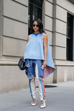 Street Style, New York: 45 mesmerizing shots from outside Monday's Spring's 2015 shows // Margaret Zhang