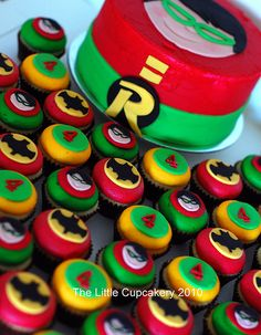 Robin Cake 'n' Cupcakes by The Little Cupcakery http://thelittlecupcakerytlc.blogspot.com