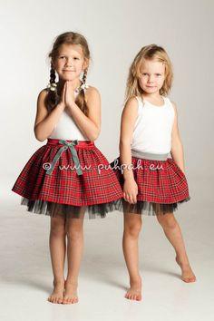 Tutu dress inspired princess skirt Children layered by PuhPah, €45.00