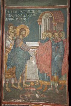 BLAGO   BLAGO : Decani : 74 Christ Teaching the Disciples to Pray