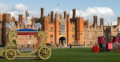 HAMPTON COURT PALACE on the banks of the River Thames, just outside London, is said to be the most haunted royal building in Britain. Most...