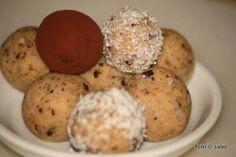 Keksteig-Bällchen / Cookie-Dough-balls