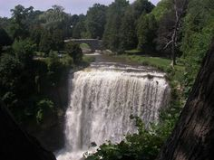 Our Canadian Sister City is Hamilton, Ontario. Hamilton is known not only for being a city on Lake Ontario, but also a city of waterfalls Wonderful Places, Beautiful Places, Dundas Ontario, Famous Waterfalls, Hamilton Ontario, Natural Wonders, The Great Outdoors, Niagara Falls