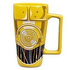 Disney C-3PO Mug - Star Wars | Disney StoreC-3PO Mug - Star Wars - Automate your coffee service with our C-3PO-themed mug featuring multi-dimensional droid elements.