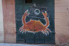 Crab Selfie In Barcelona