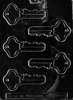 $2  thKEYS Miscellaneous Chocolate Candy Mold