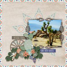 Creating using Studio4 Designworks latest kit Desert Calm.