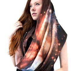 Supernova Galaxy Scarf multi, women's accessories, shadowplaynyc