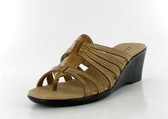 Clarks Womens 'Alason' Wedge Sandal > Can't believe it's available, see it now : Strappy sandals
