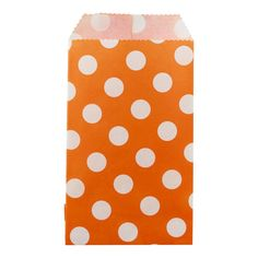 Orange Treat Sacks just in time for Halloween!