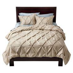 Target Home™ Pinched Pleat Comforter Set - Beige
