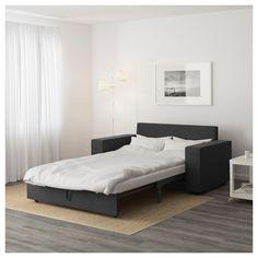 VILASUND Two-seat sofa-bed Hillared anthracite - IKEA