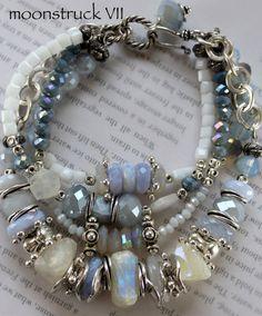 ON SALE bracelet aquamarine bracelet rainbow by soulfuledges