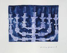 Mark Podwal (American, born 1945). Menorah, 1995. The Metropolitan Museum of Art, New York.