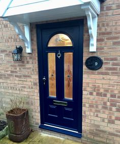 Endurance Doors - Cheviot - French Navy blue & Endurance Doors - Eiger - Anthracite Grey RAL 7016 | Front doors ... pezcame.com