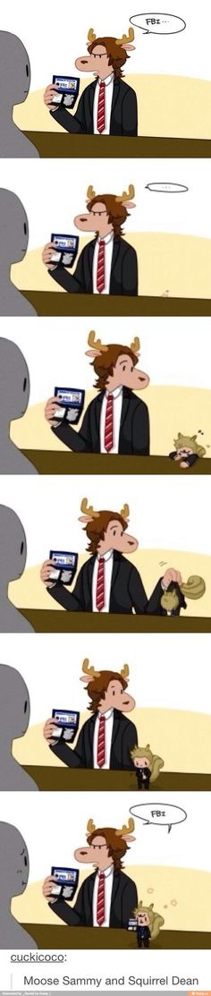 Oh Chuck... just when I thought that the Supernatural fandom couldn't get any weirder...