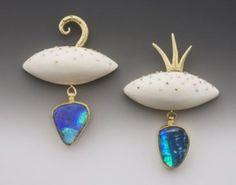 Fine Jewelry Vtg Sterling Silver Poran Gaaton Signed Israel Oxidized Garnet Earrings Skilful Manufacture