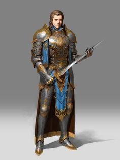 ArtStation - Knight., Hwang hyunsoo