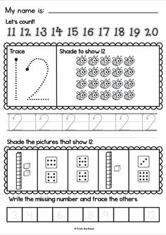 number worksheets teacher pay teachers teaching and the o 39 jays. Black Bedroom Furniture Sets. Home Design Ideas