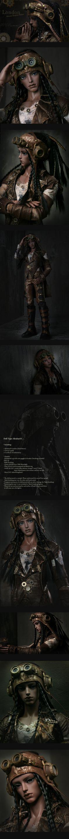 "the SOOM emporium:  ""Idealian51 - London Steam Engine Rider"""
