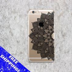 Iphone 5S case Black Mandala Samsung S6 Edge by CreativeWorldUA