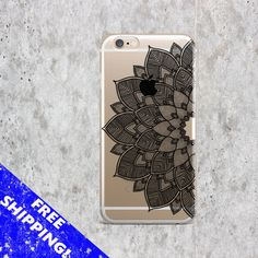 Iphone 5S case Black Mandala Samsung S6 Edge by CreativeWorldUA
