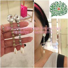 43d2c2ff083d  SALES❣ MIU MIU Classic Long Dangle Earring with SWAROVSKI Crystal