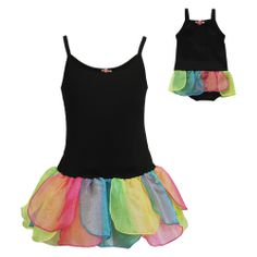 """Dancing Fairy"" One Piece Skirted Leotard with Matching Outfit for 18 inch Play Doll - Spring Preview - Matching Fashions"