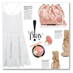 """Let's Play!"" by christinacastro830 ❤ liked on Polyvore featuring ALDO, Accessorize, Kate Spade and MAC Cosmetics"