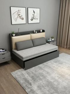 Bedroom Bed Design, Bedroom Sofa, Bedroom Furniture Design, Living Room Sofa, Sofa Come Bed Furniture, Modern Furniture Design, Queen Bedroom, Bedroom Modern, Sofa Bed For Small Spaces
