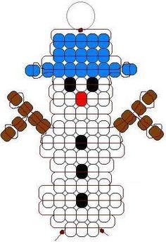 Christmas Pony Bead Patterns | ... lacing 19 blue pony beads 5 black pony beads 1 red orange pony bead: