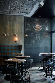 ♂ It's a man's world - Matto bar and restaurant interior, Shanghai