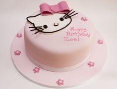 Hello Kitty Doğum Günü Pastası Modelleri - Hello Kitty Yaş Günü Fikirleri