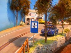 .: CIRCUITO ARTESANAL DE SLOT EN MADERA (1 carril) Slot Cars, Rc Cars, Carrera, Scenery, Dreams, Landscape, Deco, Circuits, Dioramas