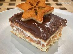 Jabĺčkovo-tvarohový zákusok Apple Cake, Tiramisu, Ham, Good Food, Food And Drink, Cooking Recipes, Ethnic Recipes, Basket, Hams