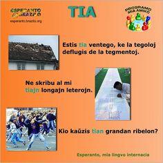 Esperanto Movado: [GRAMATIKERO] TIA