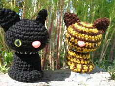 Amigurumi Warriors Cats