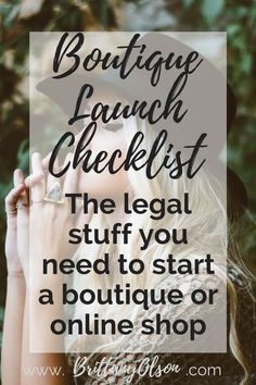How To Start An Online Boutique - How To Start An Online Boutique? - Boutique Launch Checklist for Obtaining Your Business Licenses Finding Wholesalers and Choosing an Ecommerce Platform Boutique Names, Boutique Stores, My Boutique, Beach Boutique, Boutique Decor, Boutique Design, Starting An Online Boutique, Fashion Business, It's All Happening