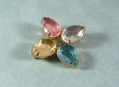 Avon Pastel Accent Pin Brooch - Vintage 1986 by FrogTears on Etsy