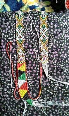 Cross Stitch Art, Borneo, Bead Art, Beads, Pattern, Jewelry, Beading, Jewlery, Jewerly