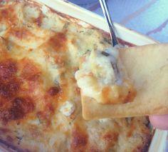Baked Pesto Artichoke Dip Recipe on Yummly. @yummly #recipe