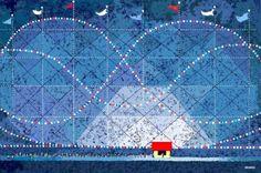 Impresionantes dibujos hechos en Paint por Hal Lasko