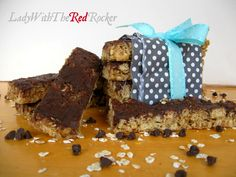 No-Bake Chocolate Covered Granola Bars